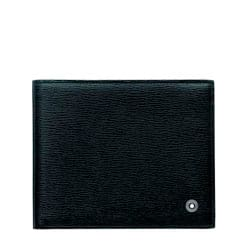 Carteira Montblanc Westside Masculina Couro Preto - 08372