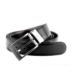 Cinto Montblanc Casual Collection Masculino Couro Preto  - 105090