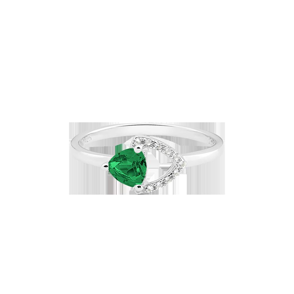 Anel Life Terra Ágata Verde e Topázios - Colecao Life Elementos 18bdc5b6f8