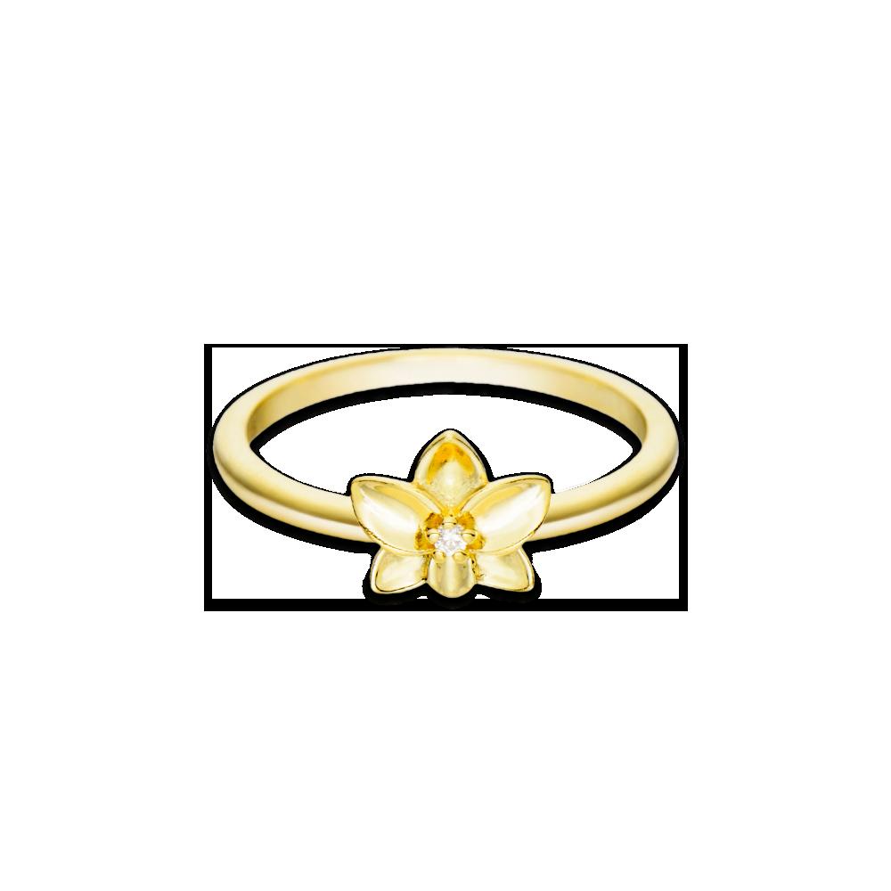 Anel Life Flor Orquídea - Colecao Life Flora 74565026eb