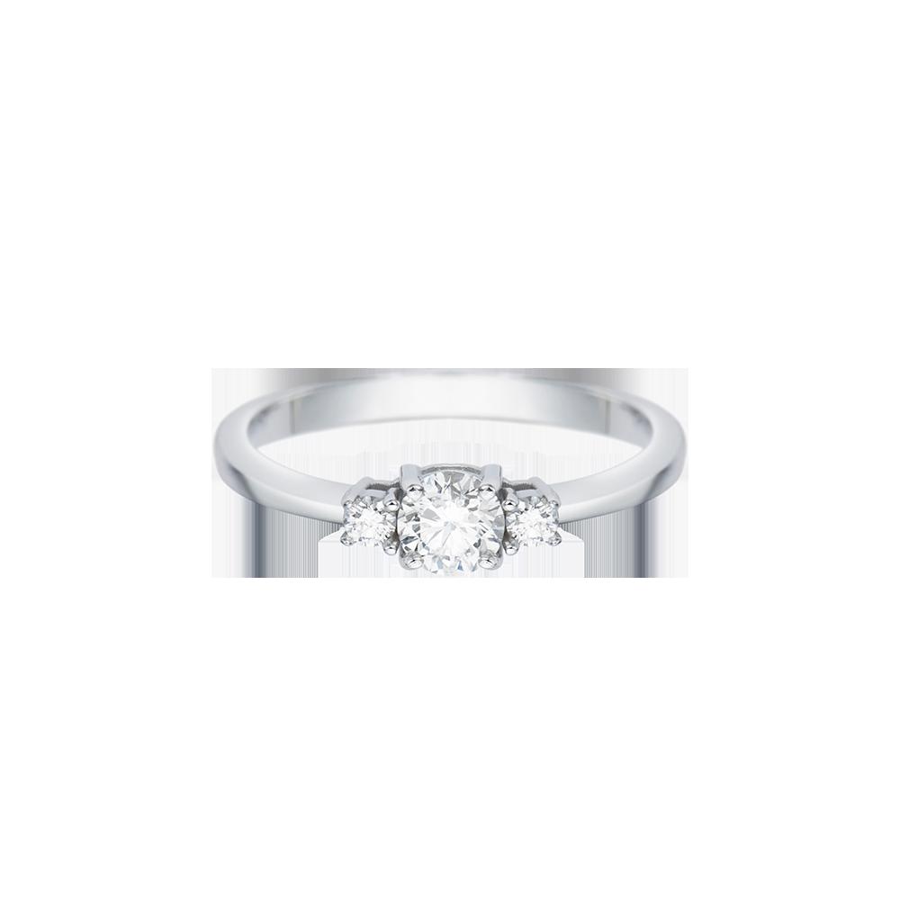 3c1df0802caa9 Solitário Ouro Branco e 32 Pontos de Diamantes