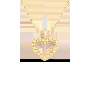 052694ae62684 Pingente Coração Ouro Amarelo. Pingente Coração Ouro Amarelo. Coleção  Amantes