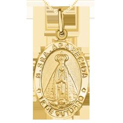 278cfad6ccc34 Pingente Nossa Senhora de Aparecida Ouro Amarelo