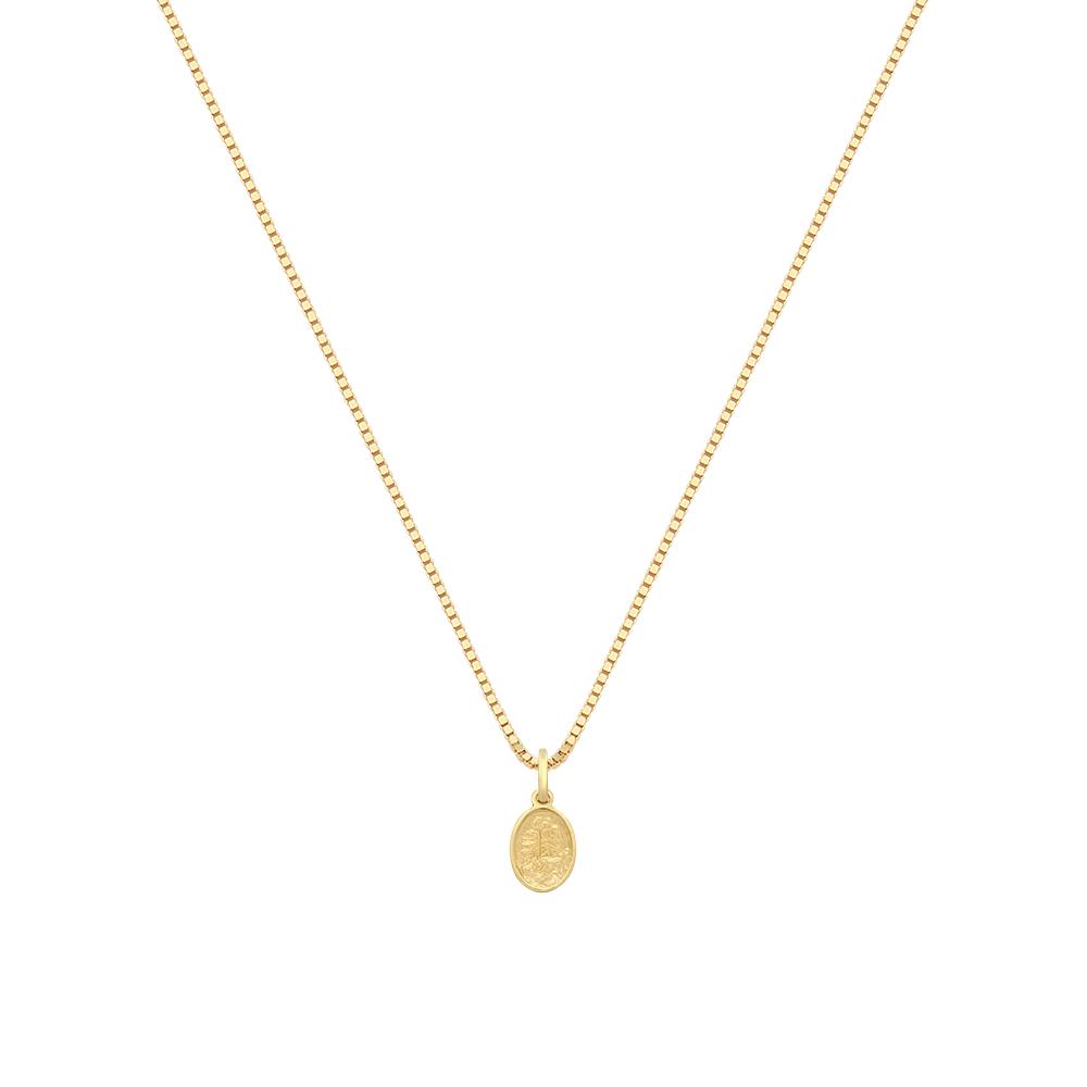 643161517fa92 Pingente São Jorge Ouro Amarelo - Colecao Medalhas