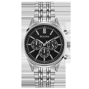 94511de73ca Relógio Bulova Masculino Aço - 96A211