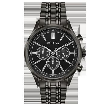 c0dbfecdd39 Relógio Bulova Masculino Aço Preto - 98A217
