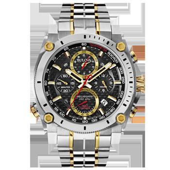 e3154069115 Relógio Bulova Masculino Aço Prateado e Dourado - 98B228