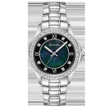 1277d1b8a6f Relógio Bulova Feminino Aço - 96L266