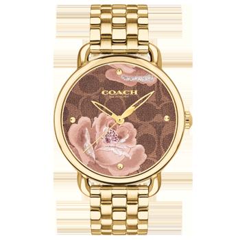 df53df5eeb0 Relógio Coach Feminino Aço Dourado - 14503164