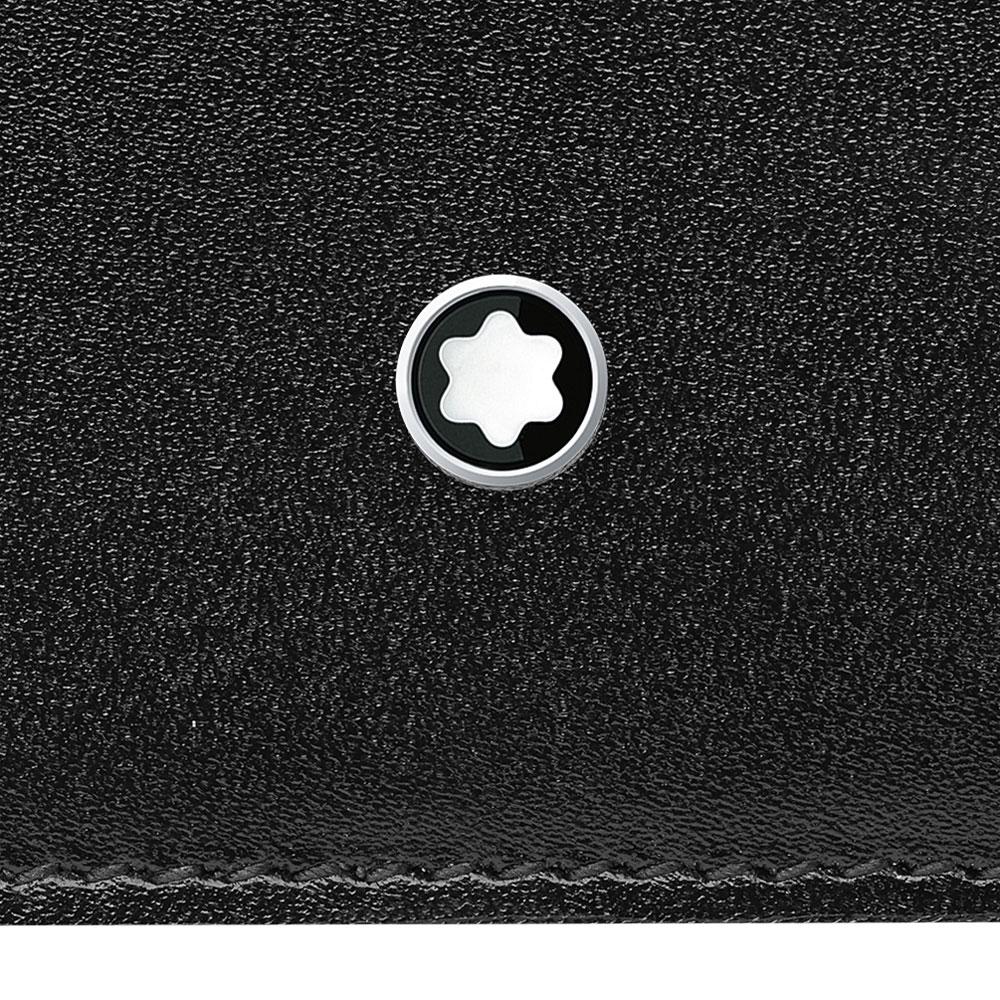 621cf2d0c3 ... Porta-cartões montblanc meisterstück pocket masculino couro preto -  118313. Passe o mouse para ampliar. Confira o estoque deste produto nas  lojas