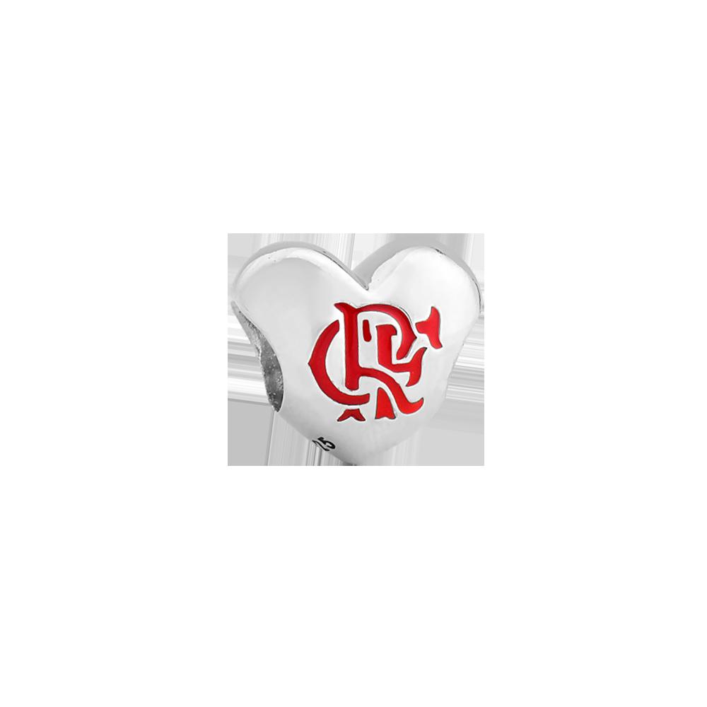 805acff1cce Pingente Life Coração Flamengo - Colecao Life Times