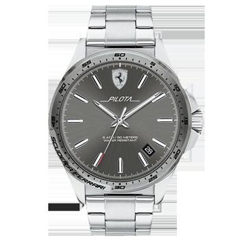 a6d25c8816b Relógio Scuderia Ferrari Masculino Aço - 830526