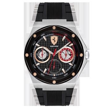 5401ffe27e2 Relógio Scuderia Ferrari Masculino Borracha Preta - 830556