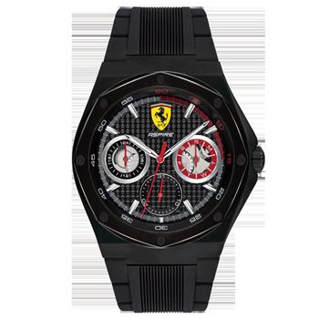 dc2b04e2d03 Relógio Scuderia Ferrari Masculino Borracha Preta - 830538