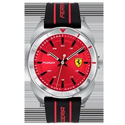 313503f4d55 Relógio Scuderia Ferrari Masculino Borracha Preta - 830543