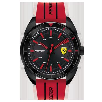 145d689ac88 Relógio Scuderia Ferrari Masculino Borracha Vermelha - 830544