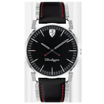 7a5cc96f09f Relógio Scuderia Ferrari Masculino Couro Preto - 830558