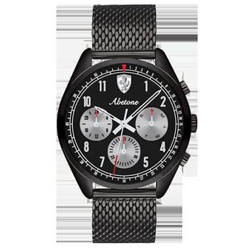 d88f7e55911 Relógio Scuderia Ferrari Masculino Aço Preto - 830573