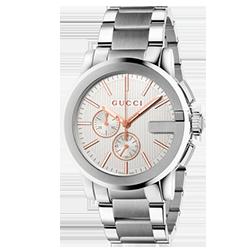 586707d3e85a1 Relógio Gucci Masculino Aço - YA101201