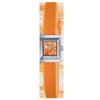 7d234d581ade1 Relógio Gucci Feminino Couro Laranja - YA128532