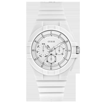 Relógio Guess Masculino Borracha Branca - W0942L1 99250a2b6f
