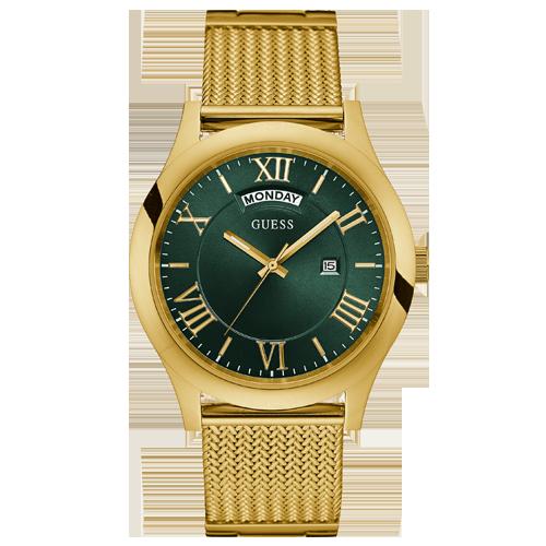 907b0d444fc Relógio Guess Masculino Aço Dourado - W0923G2