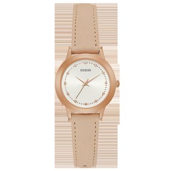 87365daf7ab6b Relógio Guess Feminino Couro Rosa - 92650LPGDRC6