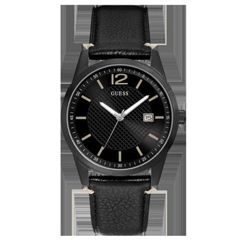 9fb35691ea2 Relógio Guess Masculino Couro Preto - 92649GPGDPC4