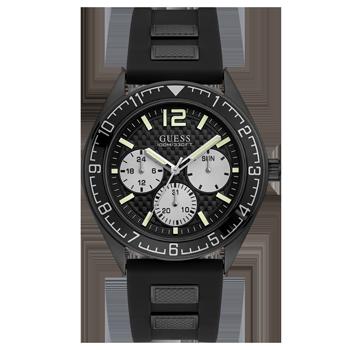 e8b2a16c34d Relógio Guess Masculino Borracha Preta - 92728GPGSPU1