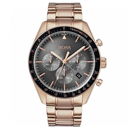 a3647c9e4fe Relógio Hugo Boss Masculino Aço Dourado - 1513632