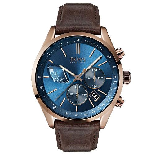 0f93aadb9c2 Relógio Hugo Boss Masculino Couro Marrom - 1513604