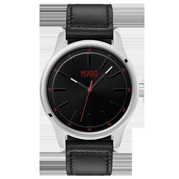 8869cc24ec2 Relógio Hugo Boss Masculino Couro Preto - 1530018