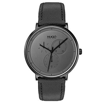 723bd2991b1 Relógio Hugo Boss Masculino Couro Preto - 1530009