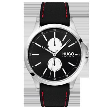 72c5cc8208d Relógio Hugo Boss Masculino Couro Preto - 1530001