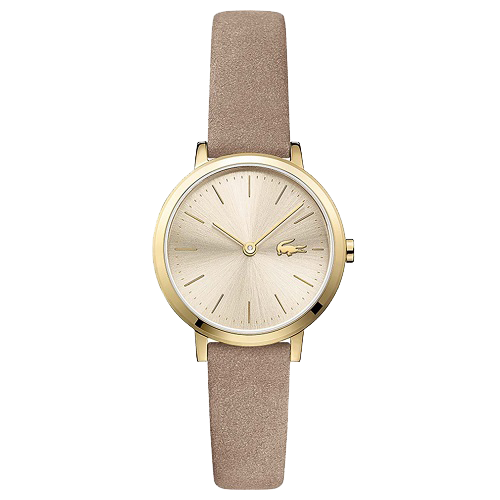 56f06ee267d Relógio Lacoste Feminino Couro Bege - 2001049