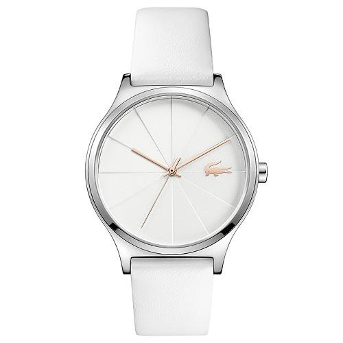 35889ba7faf Relógio Lacoste Feminino Couro Branco - 2001040