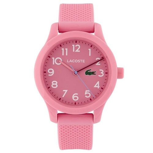4055e6d6ef5 Relógio Lacoste Infantil Borracha Rosa - 2030006