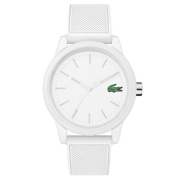 Relógio Lacoste Masculino Borracha Branca - 2010984 56ed502056