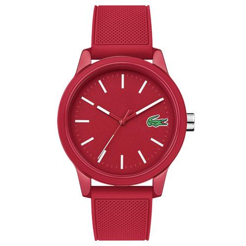 6e2adad2a45 Relógio Lacoste Masculino Borracha Vermelha - 2010988