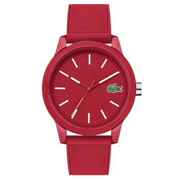 08ffc5ccb09c8 Relógio Lacoste Masculino Borracha Vermelha - 2010988