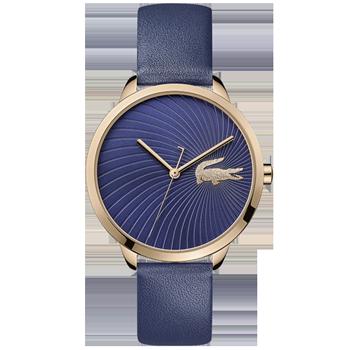 46af7e88a60 Relógio Lacoste Feminino Couro Dourado - 2001058