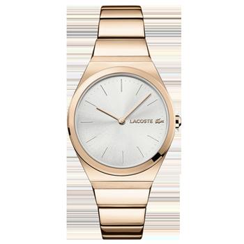 dfad0c8c3ec Relógio Lacoste Feminino Aço Rosé - 2001055