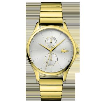 06679b5354e Relógio Lacoste Feminino Aço Dourado - 2001053