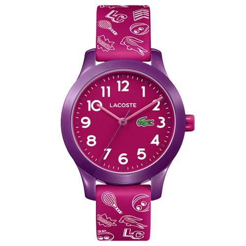 2b2c6e7a9 Relógio Lacoste Infantil Borracha Rosa - 2030012