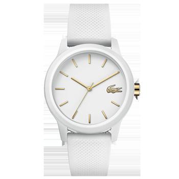 42128ecb3e5 Relógio Lacoste Feminino Borracha Branca - 2001063