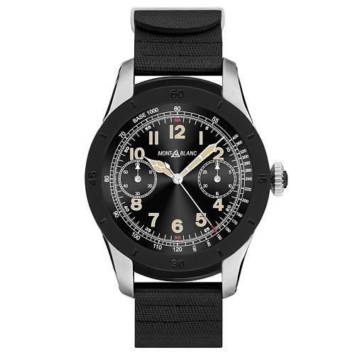 98b221a0332 Smartwatch Montblanc Summit Masculino Borracha Preta - 119015