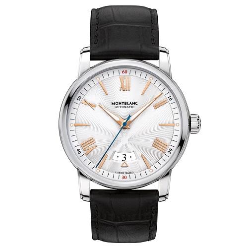 c1d98800fa0 Relógio Montblanc Masculino Couro Preto - 114841R  13.900