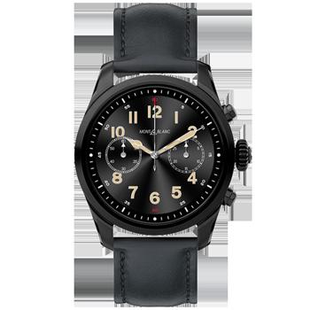c7c46b593e7 Smartwatch Montblanc Summit 2 Unissex Couro Preto - 123857