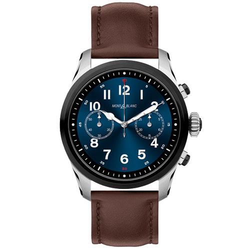 Smartwatch Montblanc Summit 2 Unissex Couro Marrom - 123858