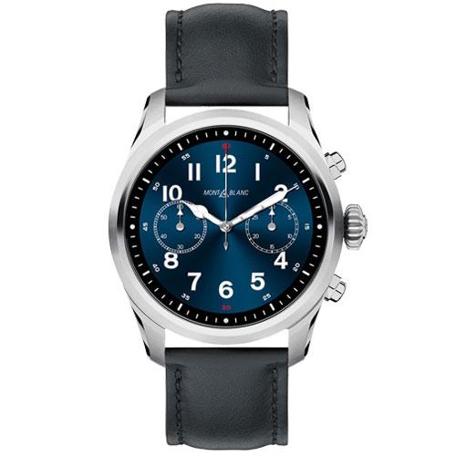 Smartwatch Montblanc Summit 2 Unissex Couro Preto - 123859